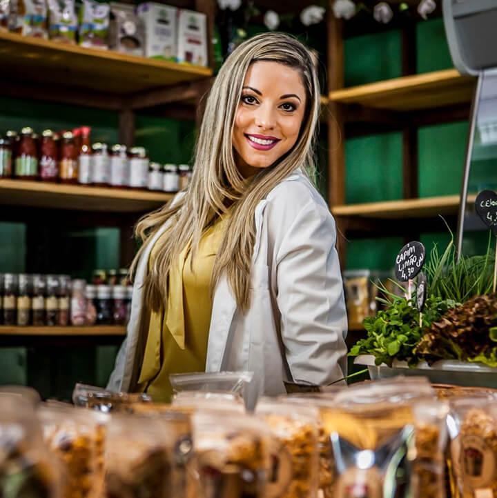 Nutricionista Isabella Correia