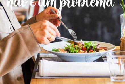 Quando sair da dieta não é um problema?