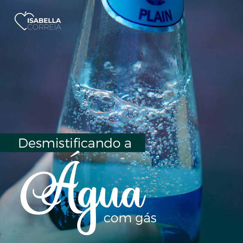 desmistificando a água com gás