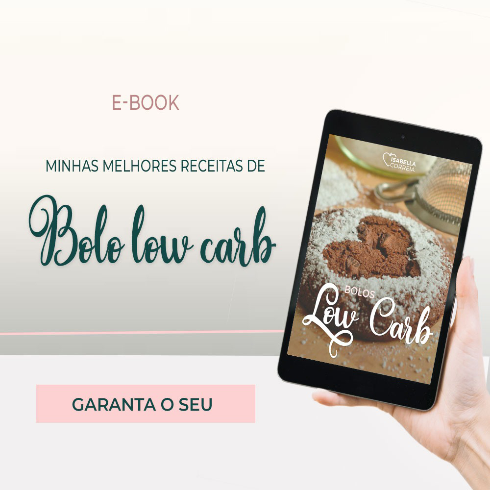 E-book: Bolos Low Carb